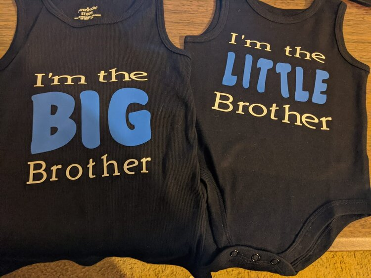 Matching Brother Shirts