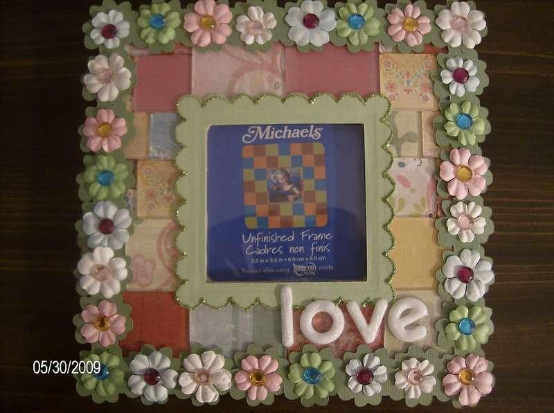 """""""Love"""" Altered Frame"""