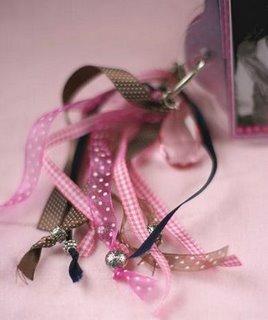 Close up of ribbons