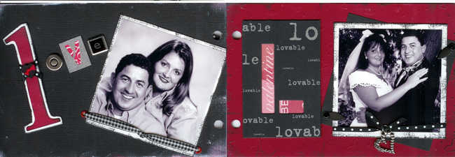 Love mini book pages 2-3