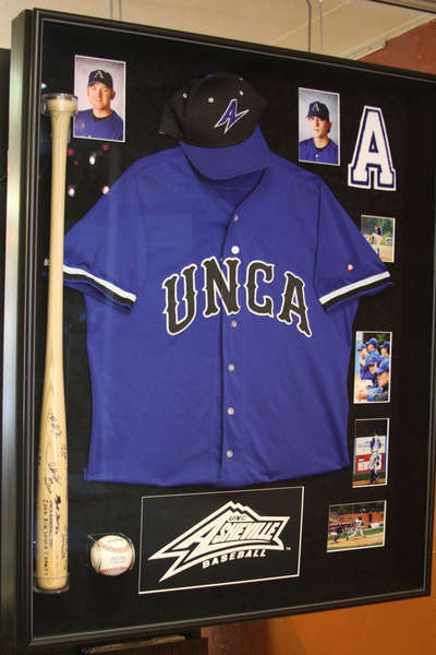 Shadowbox for UNCA-created by Merrimon Galleries