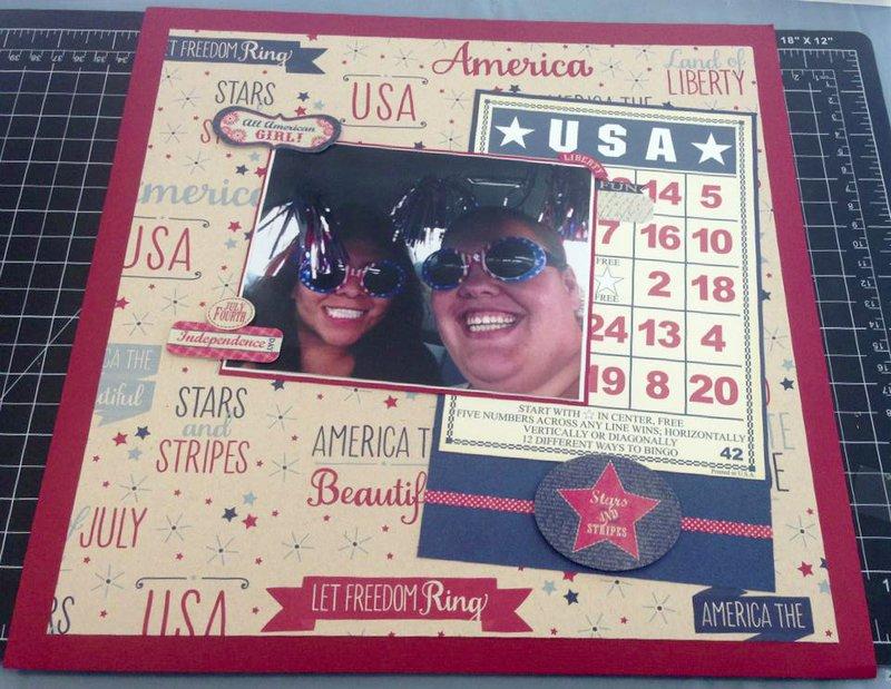 USA July 4th