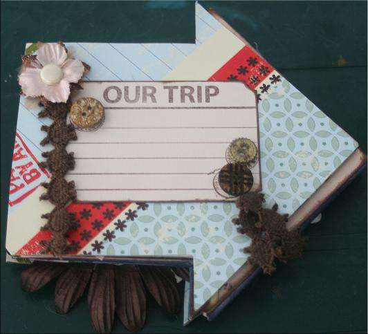 Travel Mini Book Front