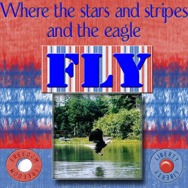 Where the stars and stripes...