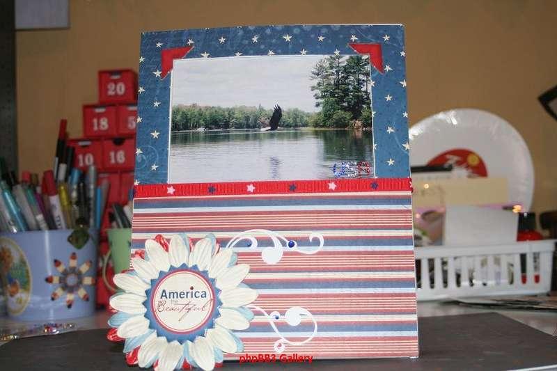 America the Beautiful Frame