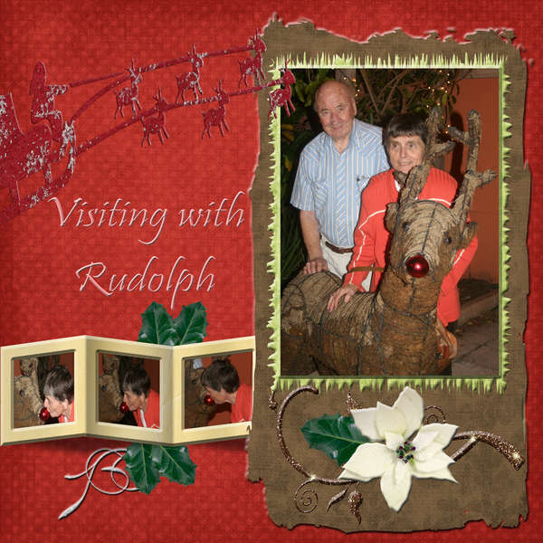 visting with rudolph