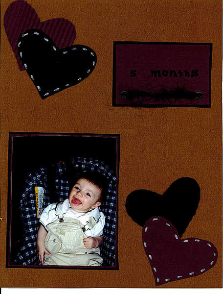 Jacob at 5 months