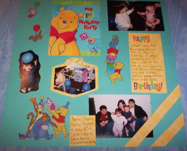 1st Birthday pg 1