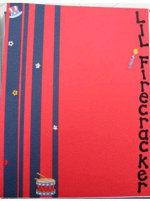 Lil Firecracker-baby book