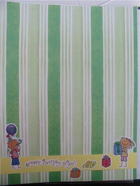 Happy Birthday-baby book