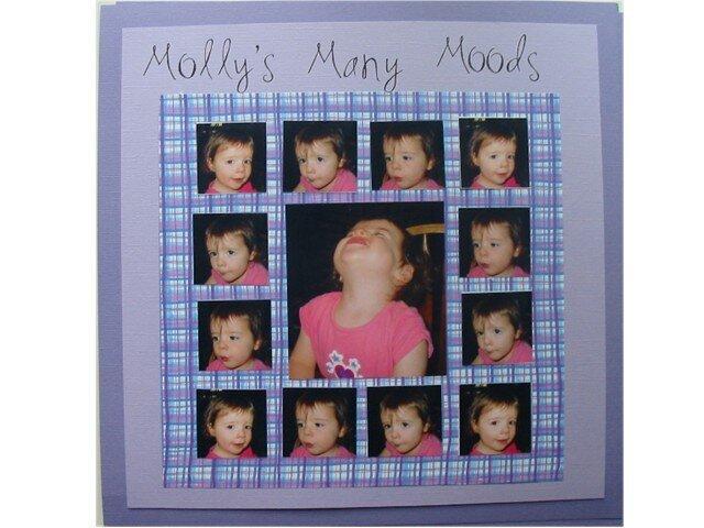 Molly's Many Moods-Zazu sketch