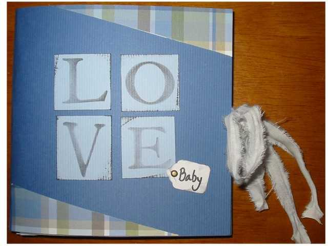 Mini book for Baby boy