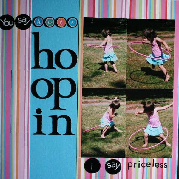 Hula Hoopin'