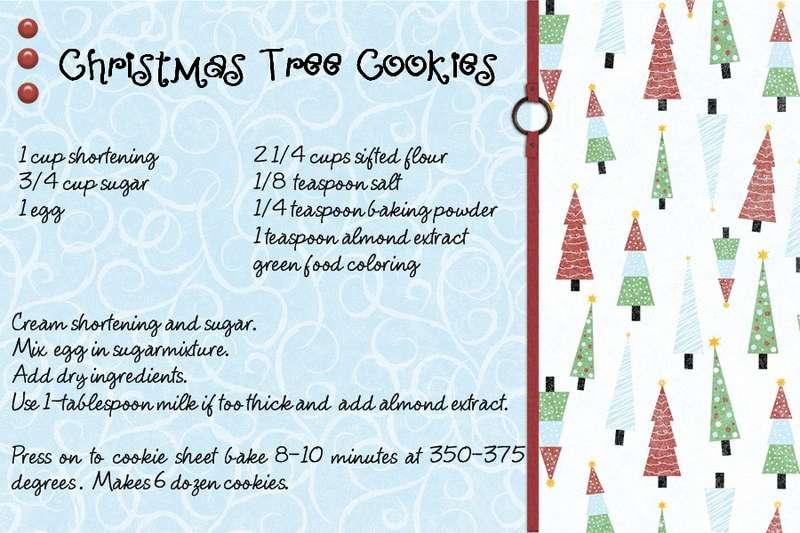 Christmas Tree Press cookies