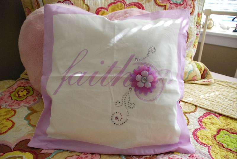 Faith (altered) Pillow