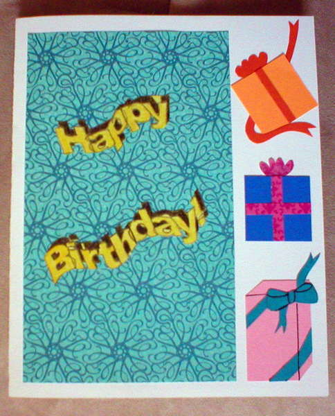 Birthday card ~ front