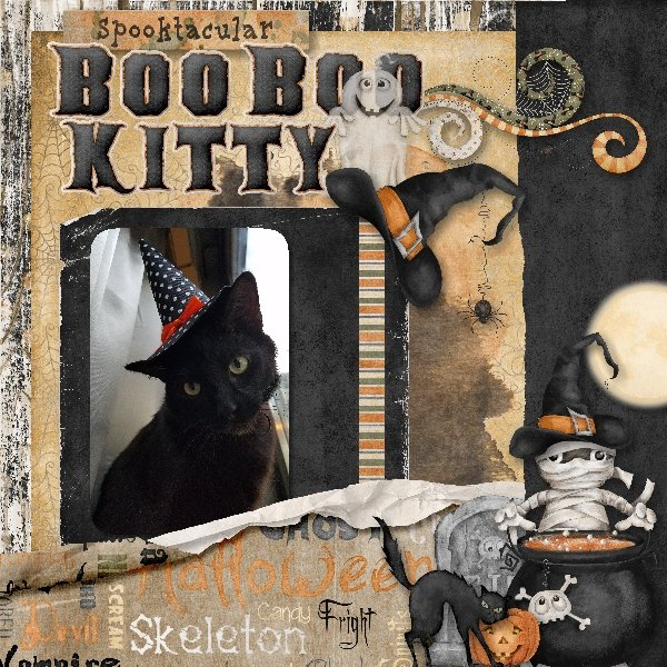 Spooktacular Boo Boo Kitty