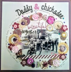 Daddy and Chickadee beautiful together