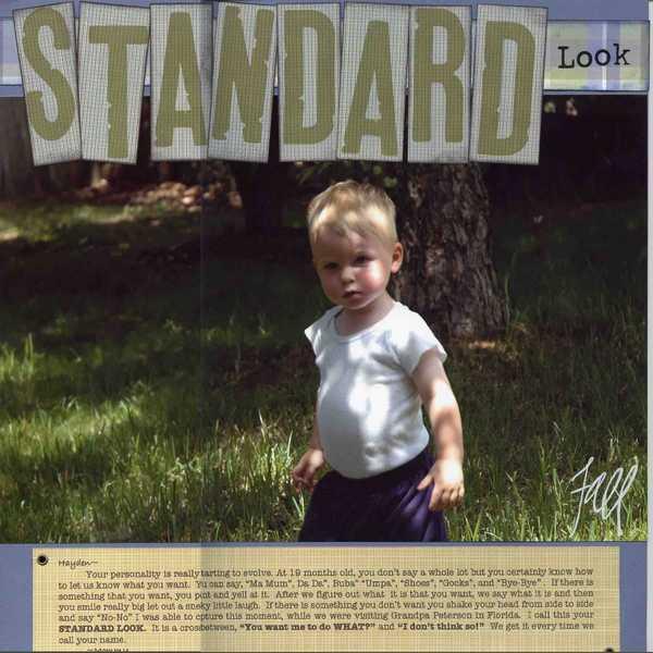 Standard Look