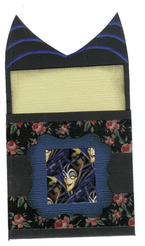 Maleficent library pocket