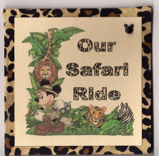 Animal Kingdom minibook