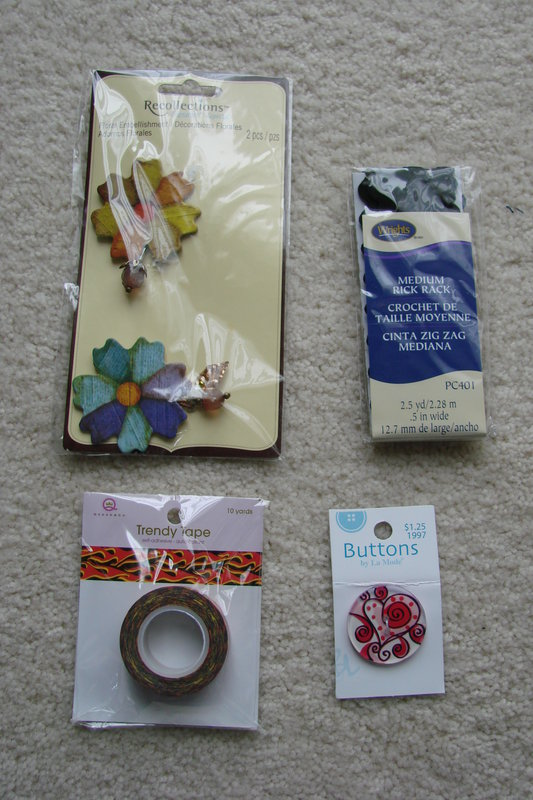 Day 1 & 2 gifts from Secret santa (Caliscrapper)