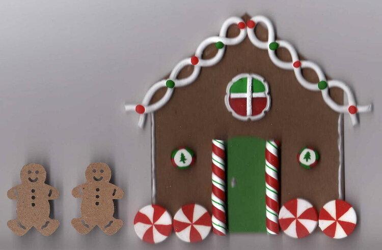 Gingerbread hidden journaling