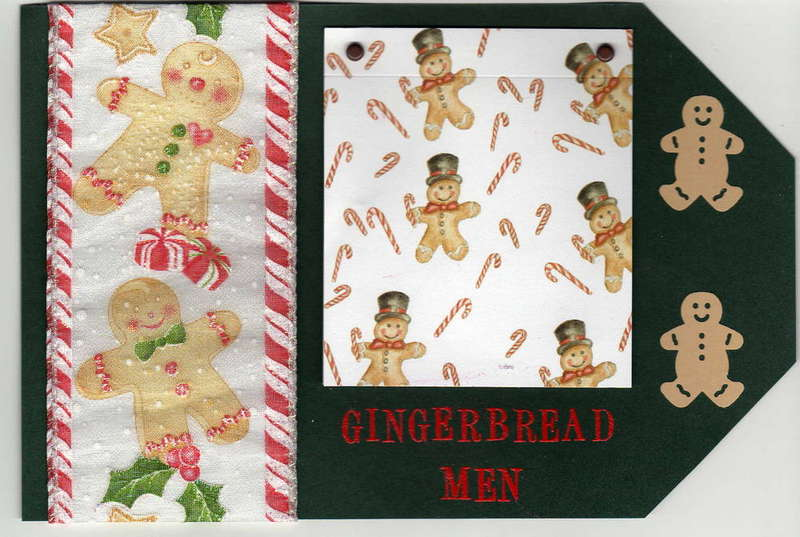 gingerbread men tag
