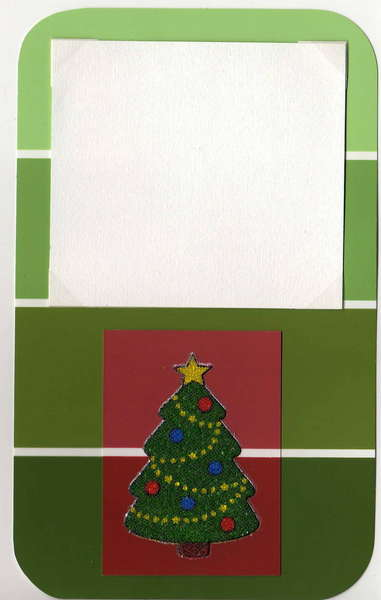 Xmas paint chip box
