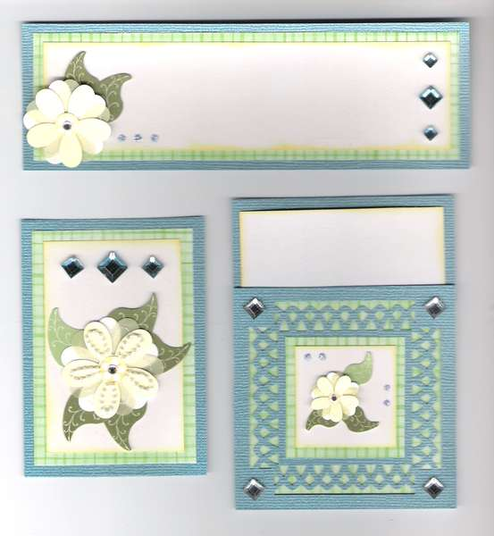 yellow flower page kit