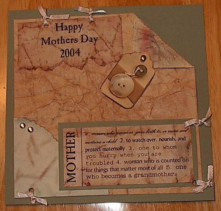 Mothers Day Mini Album - Cover