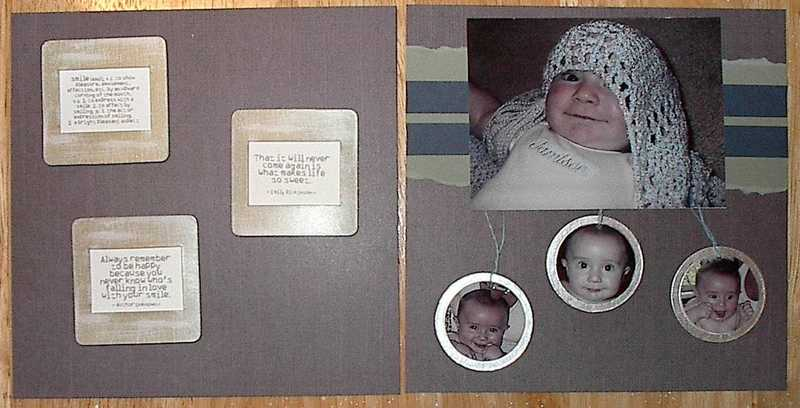 Mothers Day Mini Album - Page 17 & 18