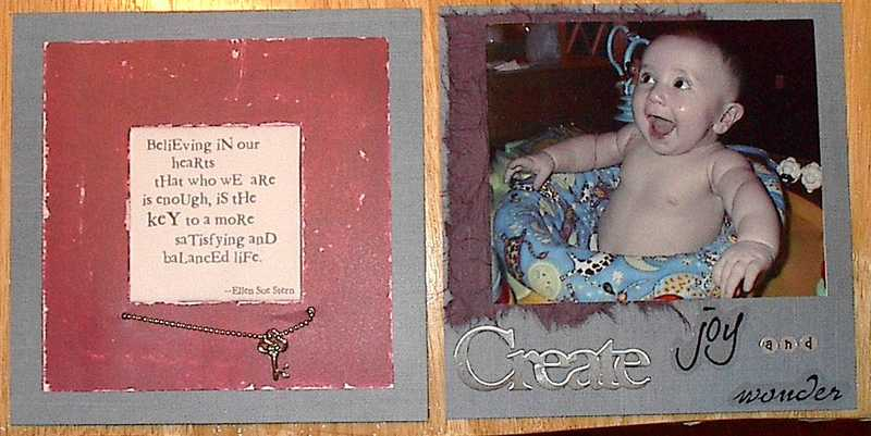 Mothers Day Mini Album - Page 5 & 6