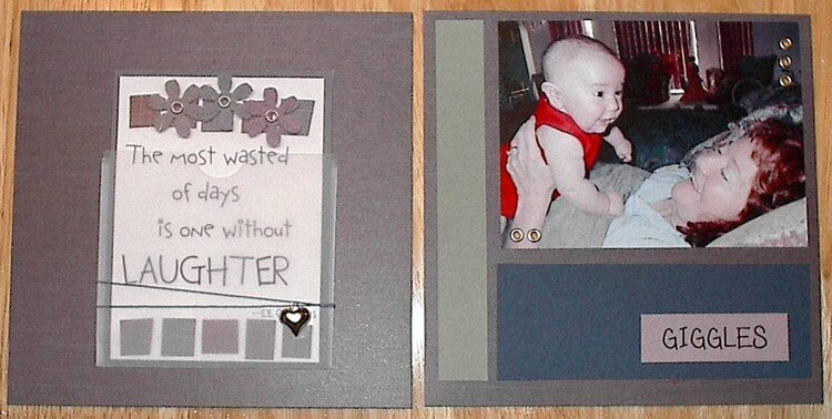 Mothers Day Mini Album - Page 7 & 8