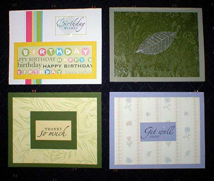 More Greeting Cards....