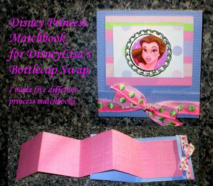 Disney Princess Matchbook
