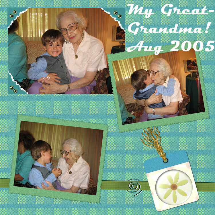 Great Grandma and Me DC