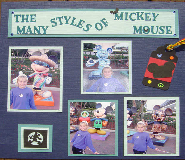 The Many Styles of Mickey Mouse