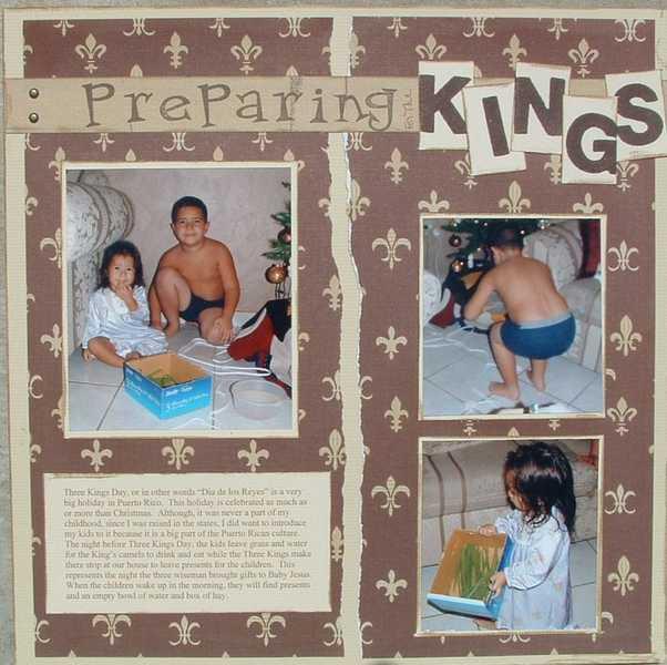 Preparing for the Kings Pg. 1