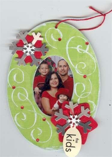 Christmas Ornament *Oval-Shaped*