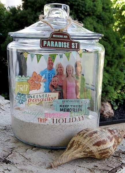 Summer Keepsake Jar