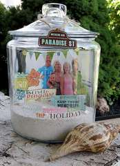 Summer Keepsake Jar