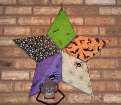Halloween Tin Star
