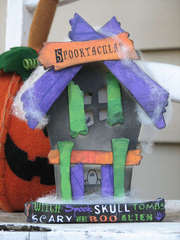 Wood Haunted House