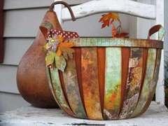 Bo Bunny Beautiful Life Fall Basket