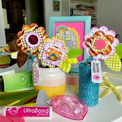 Sharing Kindness Paper Flower Bouquet