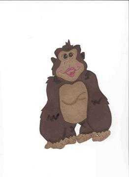 Big Monkey paper piecing