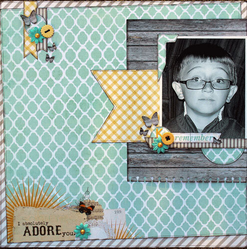 I Absolutely Adore You ~ Birds of a Feather Kit Co.