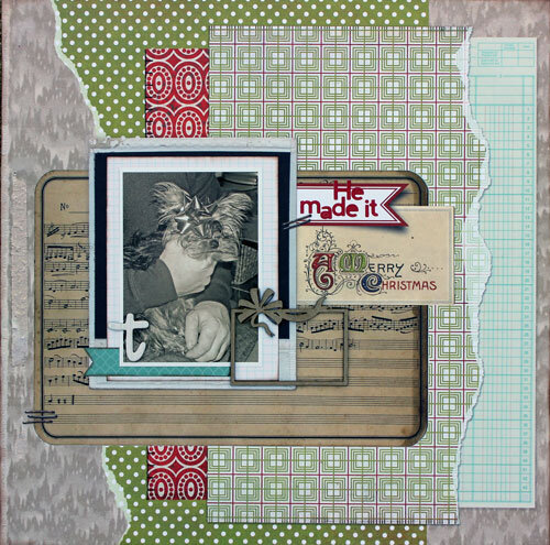 He Made it a Merry Christmas ~ Birds of a Feather Kit Co.