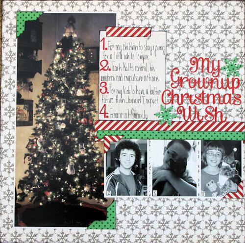 My Grownup Christmas Wish